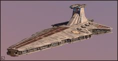 Venator-class Star Destroyer, Legion warpaint, by Etienne Beschet