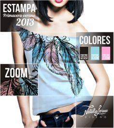 estampa nativa. 3 colores native stamp 3 colors