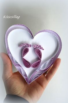 quilling baby