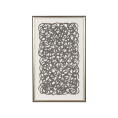 Grey Paper Art - Ethan Allen US. In white or grey
