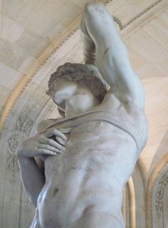 Michelangelo, Dying Slave Looking Up by profzucker, via Flickr