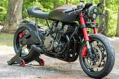 "Ottonero Cafe Racer: ""Scorpion"" CB750 Nighthawk / Industrial Moto"