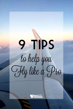 A lot of my traveling friends say that airports and air travel stresses them out, but for me, it's a breeze. So, here are a few tips to make your flight experience a little more manageable -- or maybe even more enjoyable!