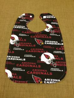 A personal favorite from my Etsy shop https://www.etsy.com/listing/292108089/arizona-cardinals-reversible-cotton-baby