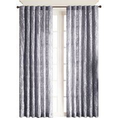 Paley Rod-Pocket Lined Curtain Panel ($50) ❤ liked on Polyvore featuring home, home decor, window treatments, curtains, pole pocket curtains, rod pocket drapery panels, rod pocket curtain panels, tab curtain panels and rod pocket curtains