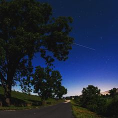 The International Space Station is seen in this 30 second exposure as it flies over Elkton, VA early this morning.  Find out when you can #SpotTheStation: spotthestation.nasa.gov  Photo Credit: NASA/Bill Ingalls  #photography #space #spacestation #NASA #Virginia #VA