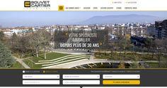 Lancement du site Agence Bouvet Cartier | Acreat Web Technologies Location, Cartier, Desktop Screenshot, Latest Technology, Rocket Launch, Cartography, Management