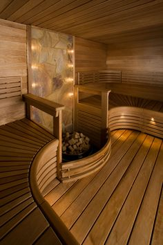 Low EMF Infrared Sauna - Advantages & Available Models Spa Interior, Bathroom Interior Design, Modern Interior Design, Interior Garden, Saunas, Sauna Steam Room, Sauna Room, Sauna Lights, Sauna Design