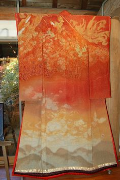 Japanese Kimono Art   The Landscapes of Itchiku Kubota.