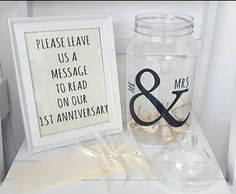 This version of my message in a bottle is specifically for brides outside of the UK. So many of you ask but I cant unfortunately send the glass jars, so I sourced these fantastic glass look sturdy plastic jars with beautiful screw lid. Wedding message in a bottle kits ,a lovely