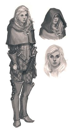 Mila by witchingbones armor clothes clothing fashion player character npc | Create your own roleplaying game material w/ RPG Bard: www.rpgbard.com | Writing inspiration for Dungeons and Dragons DND D&D Pathfinder PFRPG Warhammer 40k Star Wars Shadowrun Call of Cthulhu Lord of the Rings LoTR + d20 fantasy science fiction scifi horror design | Not Trusty Sword art: click artwork for source