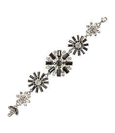 Cezanne Deco Flower Trail Bracelet #Dillards