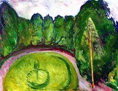Park - Edvard Munch - 1906