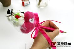 2014 New Marriage gauze Bear Pen Sets Handwork Wedding Gold Water Pen Sets Three Color Love Pen -in Event & Party Supplies from Home & Garden on Aliexpress.com   Alibaba Group