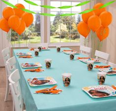 Moana Basic Party Kit For 8 Guests