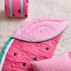 ❤️Watermelon Cottage ~ cute watermelon print sleeping bag
