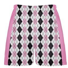 Pink Lacrosse Shorts from Lightning Wear. Design Boys Custom Lax Shorts with any logo or pattern you want. Lacrosse Quotes, Athletic, Shorts, Boys, Pattern, Pink, How To Wear, Check, Color
