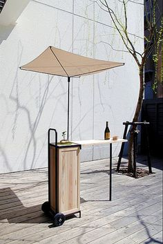 Minimalist concept ... but finest wine ... clever !