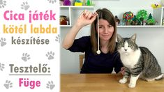 Cica játék házilag – Kötél labda készítése Youtube, Animals, Animales, Animaux, Animal, Animais, Youtubers, Youtube Movies