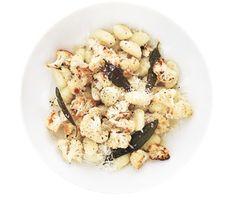 Gnocchi With Roasted Cauliflower - 331 calories