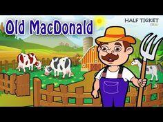 #OldMacDonald had a farm! :-) #Kids, look at all the moo cows there :-) #nurseryrhymes