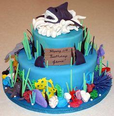 Shark Cake on Cake Central