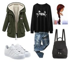 """""""EVERY DAY LOOK"""" by muzungoraf on Polyvore featuring Levi's, adidas Originals and rag & bone"""