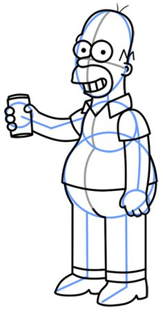 How to Draw Minion Dave Cartoon