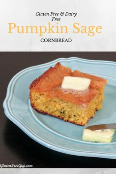 Make it for dinner, make it for snack or use my Thanksgiving tip: You could also substitute this cornbread in your cornbread pan dressing or stuffing for a flavorful change! #glutenfree #dairyfree #pumpkin