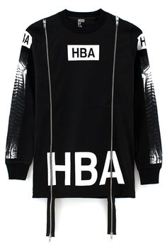 Hood By Air DOUBLE ZIP X-RAY SHIRT