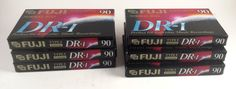 6 FUJI DR-I 90 Minute Blank Audio Cassette Tapes New Factory Sealed NORMAL BIAS   Consumer Electronics, TV, Video & Home Audio, TV, Video & Audio Accessories   eBay!