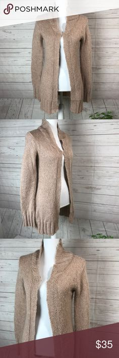 """Free people Sweater Cardigan size S Measurements taken with Garments laying flat and approximate. Pit to pit : 20"""" Length from top of the shoulder:31"""" Sleeves inseam: 21"""" With hooks and eye Closure down the front   All items come from Smoke free environment!! Free People Sweaters Cardigans"""