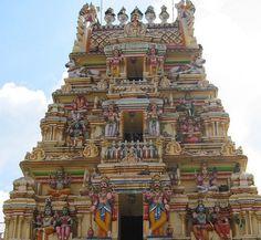 Hindu Temple, Bangalore by auchard