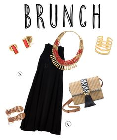 """""""Stella and Dot Brunch"""" by ashley-ragon on Polyvore featuring Stella & Dot, Babakul and Billabong"""