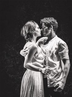 Richard Madden & Lily James. Romeo and Juliet.