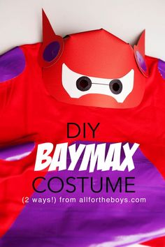 DIY Baymax costume (2 ways!)