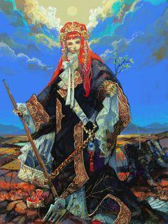 The Twelve Kingdoms Youko fanart