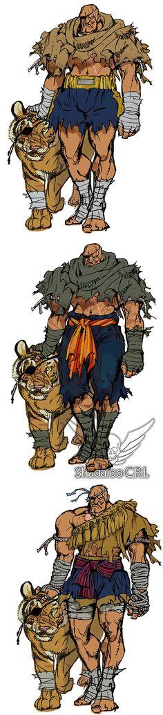 Early Development Ideas: Sagat At long last, the king has finally returned (sorry to have kept yo. Sagat Street Fighter, Street Fighter Comics, Grunge Art, Art Folder, Art Activities, Character Design Inspiration, Amazing Art, Art Reference, Concept Art