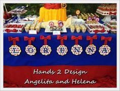 Snow White Dessert Table Decor