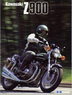 1976 Kawasaki Z900A4 Brochure