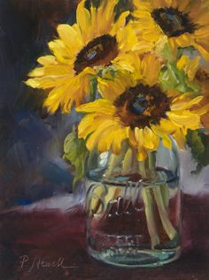 Pam Newell sunshine_in_a_jar-oil_9x12.jpg (668×900)