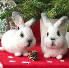 Mesmerizing Crochet an Amigurumi Rabbit Ideas. Lovely Crochet an Amigurumi Rabbit Ideas. Crochet Animal Patterns, Stuffed Animal Patterns, Crochet Animals, Crochet Patterns Amigurumi, Amigurumi Doll, Crochet Dolls, Easter Crochet, Cute Crochet, Knitting For Kids