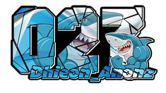 Stiker Shark Racing by dhieon anonz