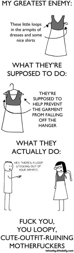 The loops that can ruin an outfit
