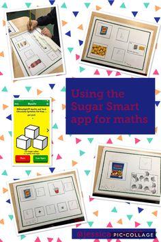 Maths opportunities using the Sugar Smart App.