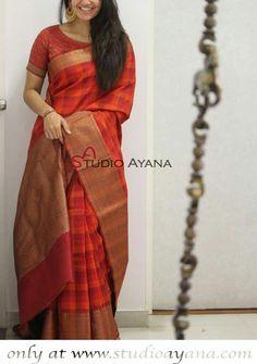 Price plz Kerala Saree Blouse Designs, Saree Blouse Neck Designs, Trendy Sarees, Stylish Sarees, Modern Saree, Cotton Slip, Saree Trends, Saree Models, Elegant Saree