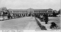 St. Joseph's College (Brigade Road).  St. Joseph's College, Bangalore is one of the oldest colleges in the State of Karnataka with a history of more than 125 years behind it.