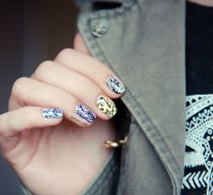 Nails nails glorious nails!!!! LOVE THESE FOR SUMMER!!!<3<3<3