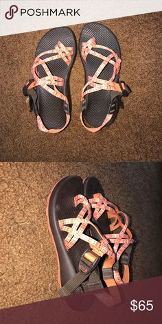 5bad505241bb Chacos Size 7 in women s and 5 in kids. Chaco Shoes Sandals