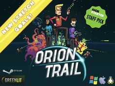 Orion Trail - Kickstarter